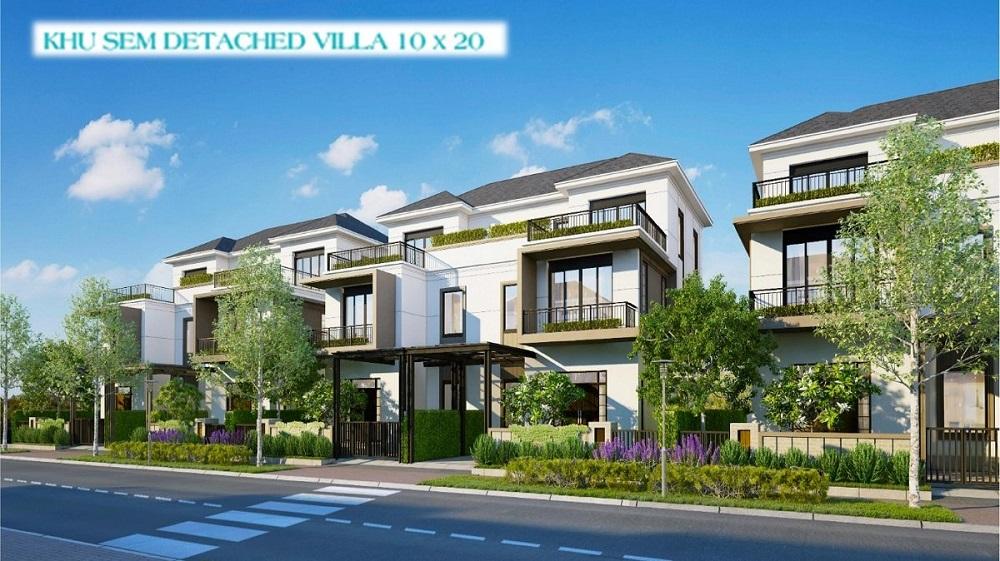 Phối cảnh Biệt thự 10×20m Aqua City Novaland, Biên Hoà Đồng Nai