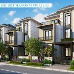 Phối cảnh biệt thự sân vườn 10×20m Aqua City Novaland, Biên Hoà Đồng Nai