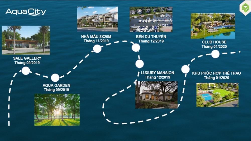 Tiện ích Ngoại khu hoàn chỉnh tại Aqua City