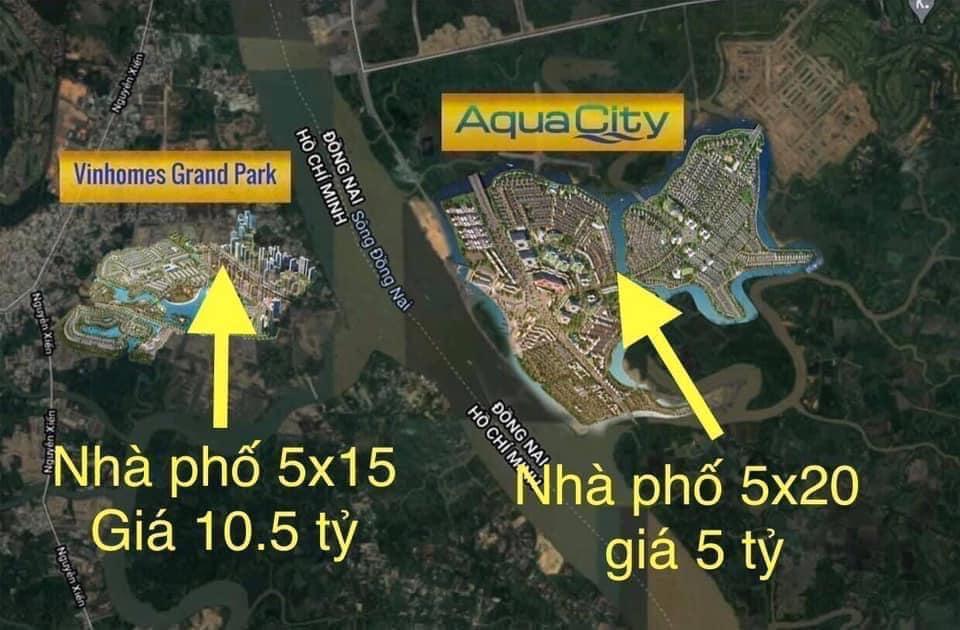 tiềm năng của aqua city đồng nai