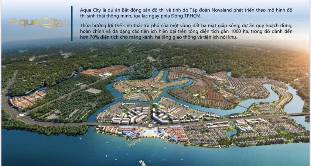 Dự án Aqua City Phoenix Island Đồng Nai